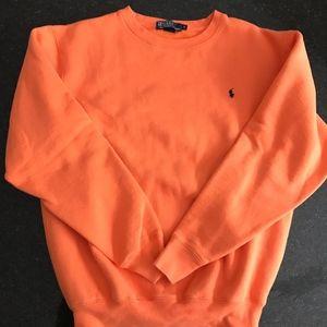 Mens Orange Sweatshirt